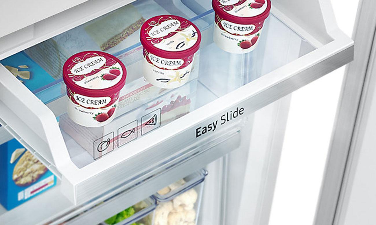 Półka Digital Inverter w zamrażarce w lodówce Samsung BRB260010WW