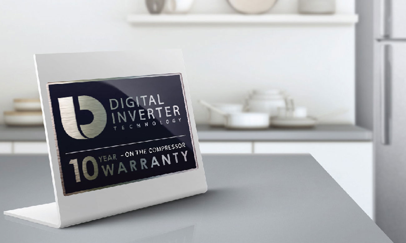 Silnik Digiteal Inverter w lodówce Samsung BRB260010WW