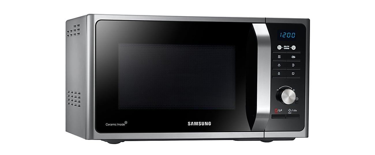 Kuchenka mikrofalowa Samsung MS23F301TAS inox tryb eco oszczędzanie energii