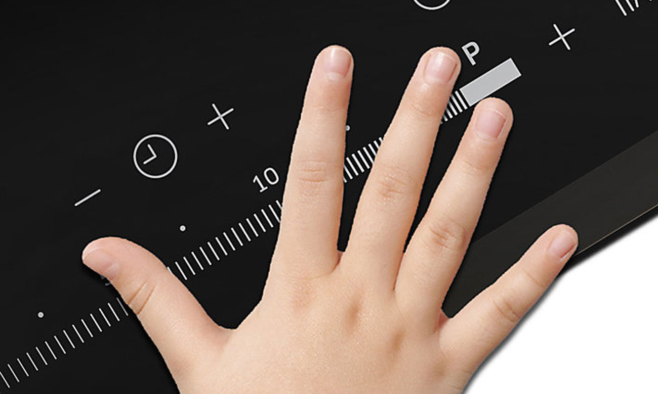 Zabezpieczenie przed dziećmi w płycie Samsung NZ64H57477K