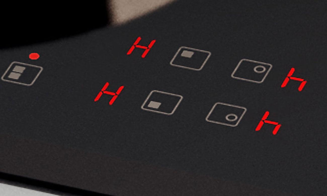 Wydajne wykorzystanie ciepła, dzięki wskaźnikowi ciepła resztkowego w płycie Samsung NZ64H57477K