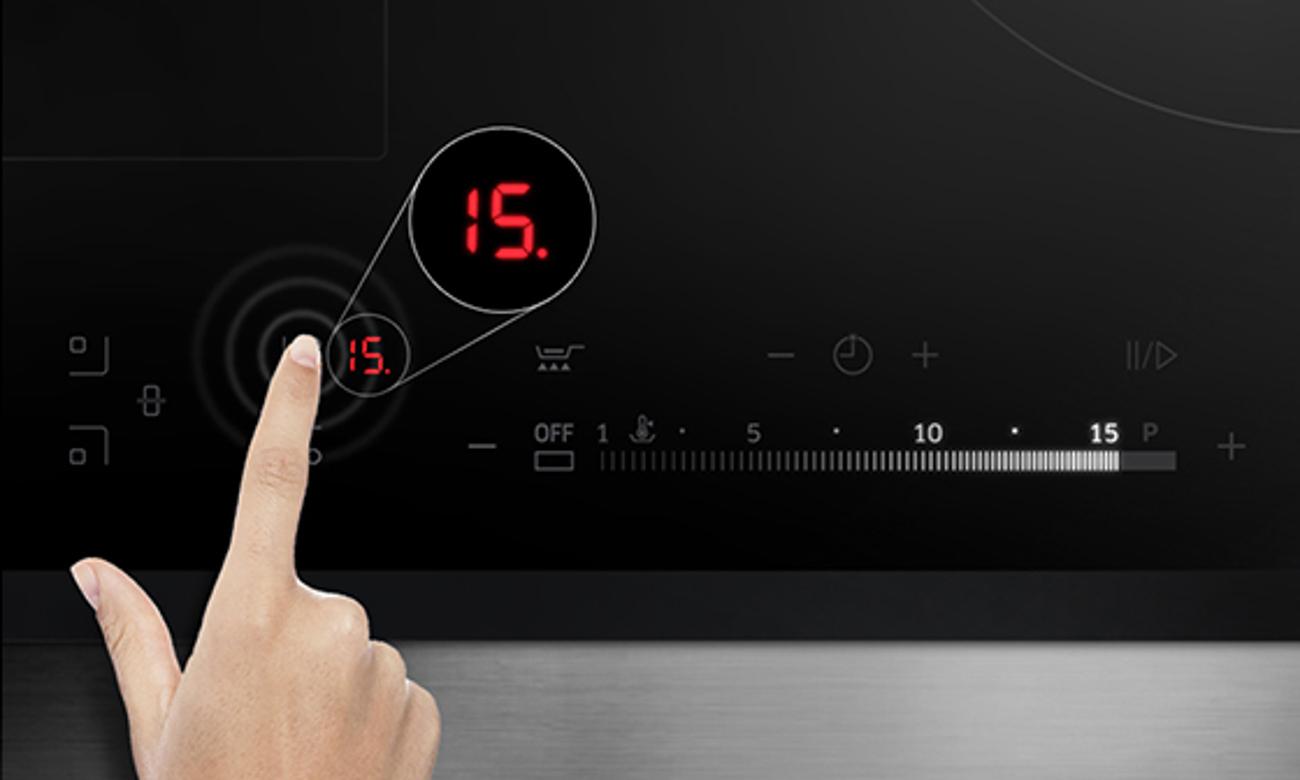 płyta Samsung NZ64H57479K ma funkcje quickstart