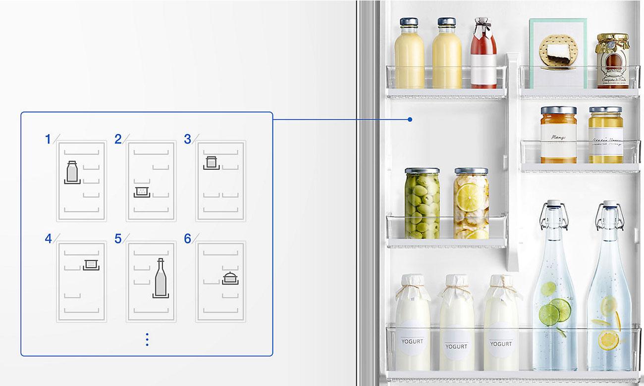 alarm otwartych drzwi lodówki Samsung RB29HER2CSA