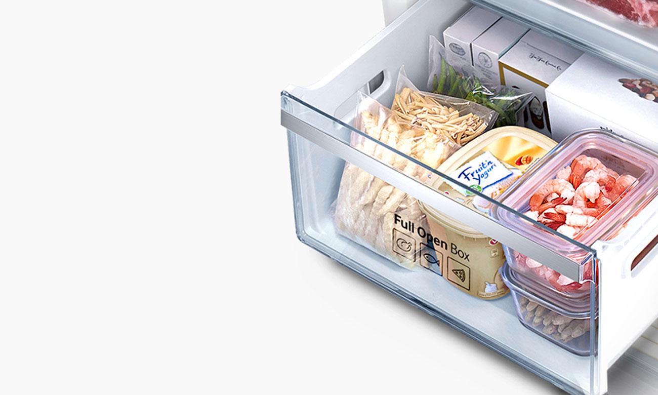 Szuflada Full Open Box w lodówce Samsung RB36J8855S4