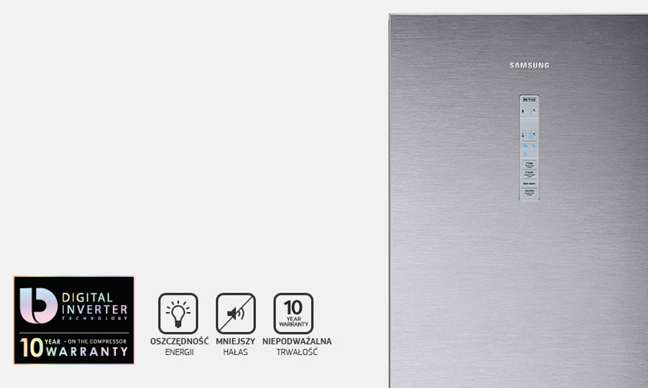 Kompresor Digital Inverter w Samsung RB41J7839S4
