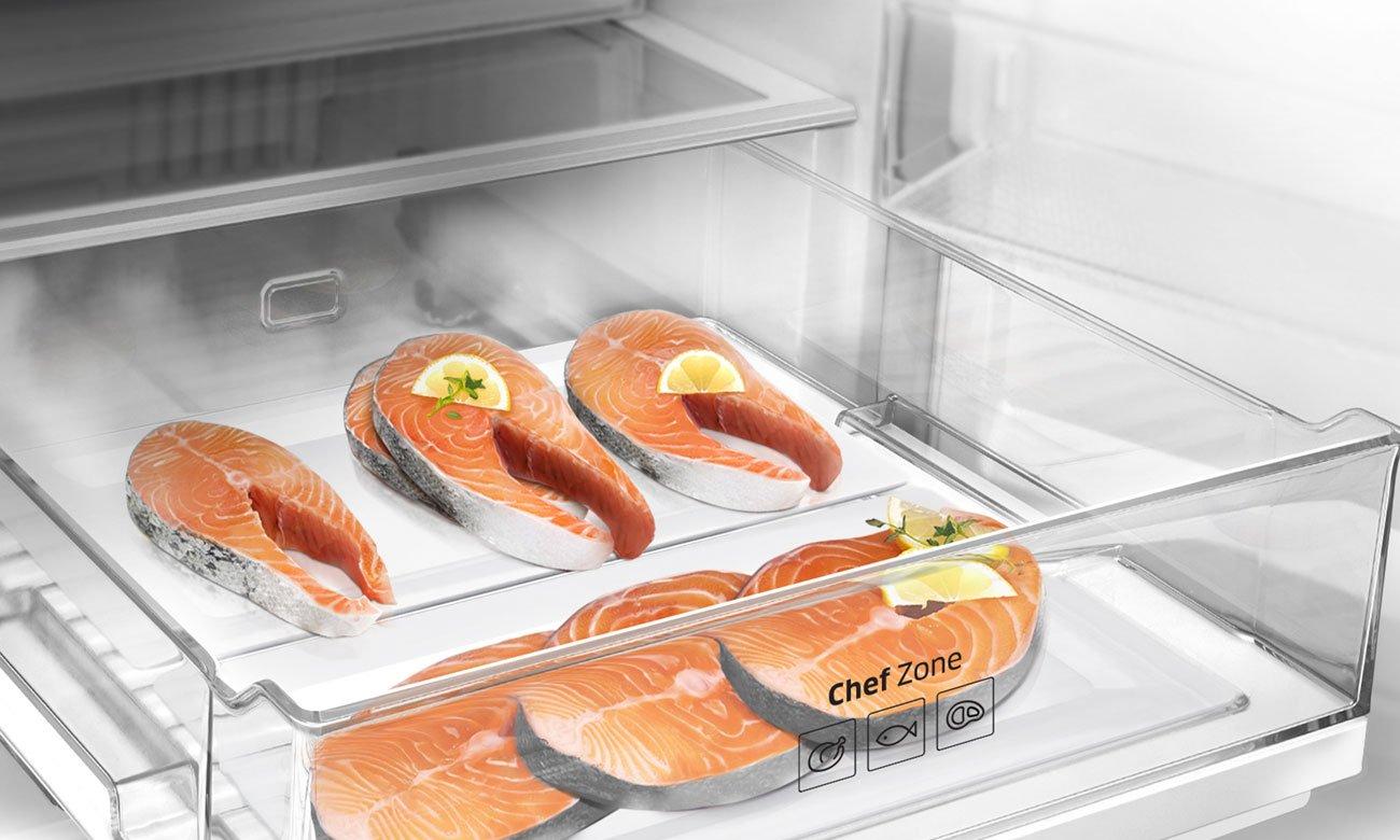 Strefa Chef Zone w Samsung RB41J7839S4