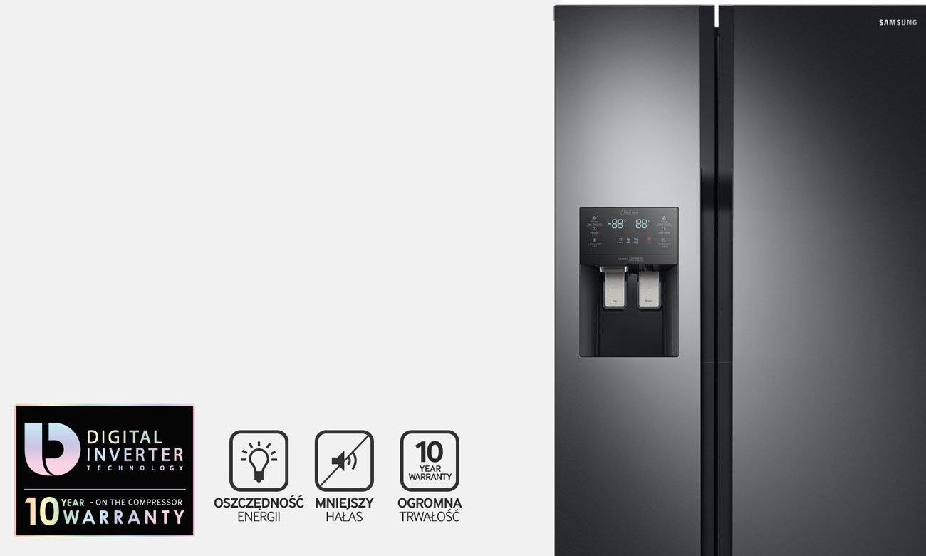 Silnik Digital Inverter w lodówce Samsung RS51K54F02C