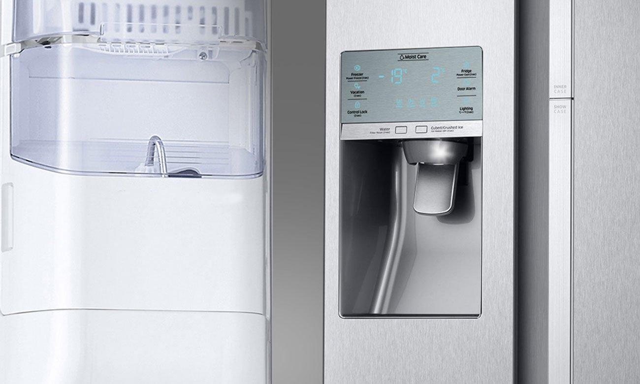 Dystrybutor wody w lodówce Samsung RS51K54F02C
