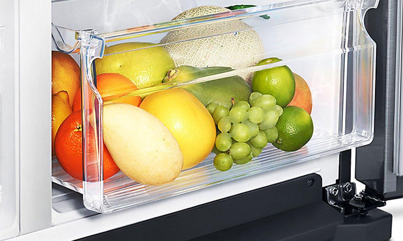 Duża szuflada Big Box w lodówce RS7687FHCSL