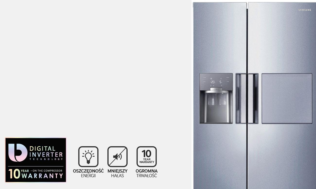 Silnik Digital Inverter w lodówce Samsung RS7687FHCSL