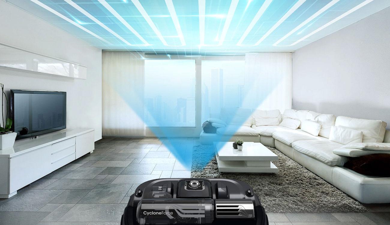 Inteligentne sprzątanie dzięki Samsung VR20K9350WK