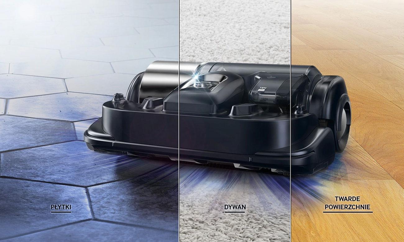 Robot sprzątający Samsung VR20K9350WK pozwala wybrać konkretne miejsce sprzątania