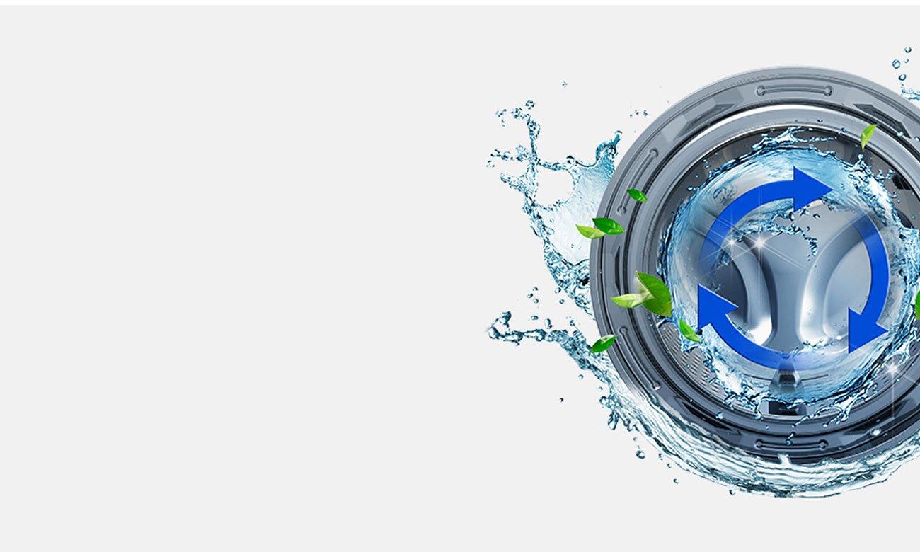 Eko czyszczenie bębna w pralce Samsung WD80J6410AX