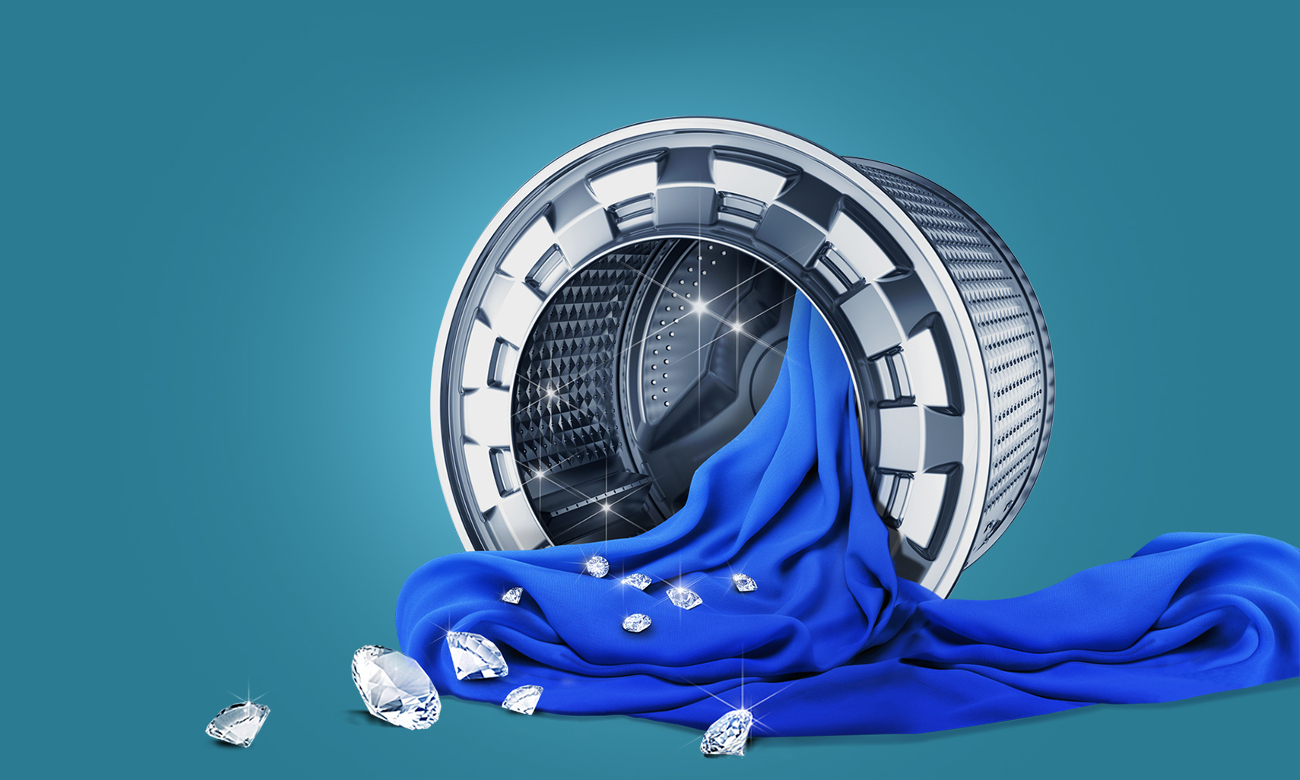 bęben diamond drum w Samsung WF80FSE0W2W