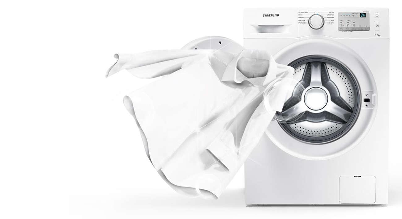 Samsung WW60J3283LW posiada opcje szybkiego prania