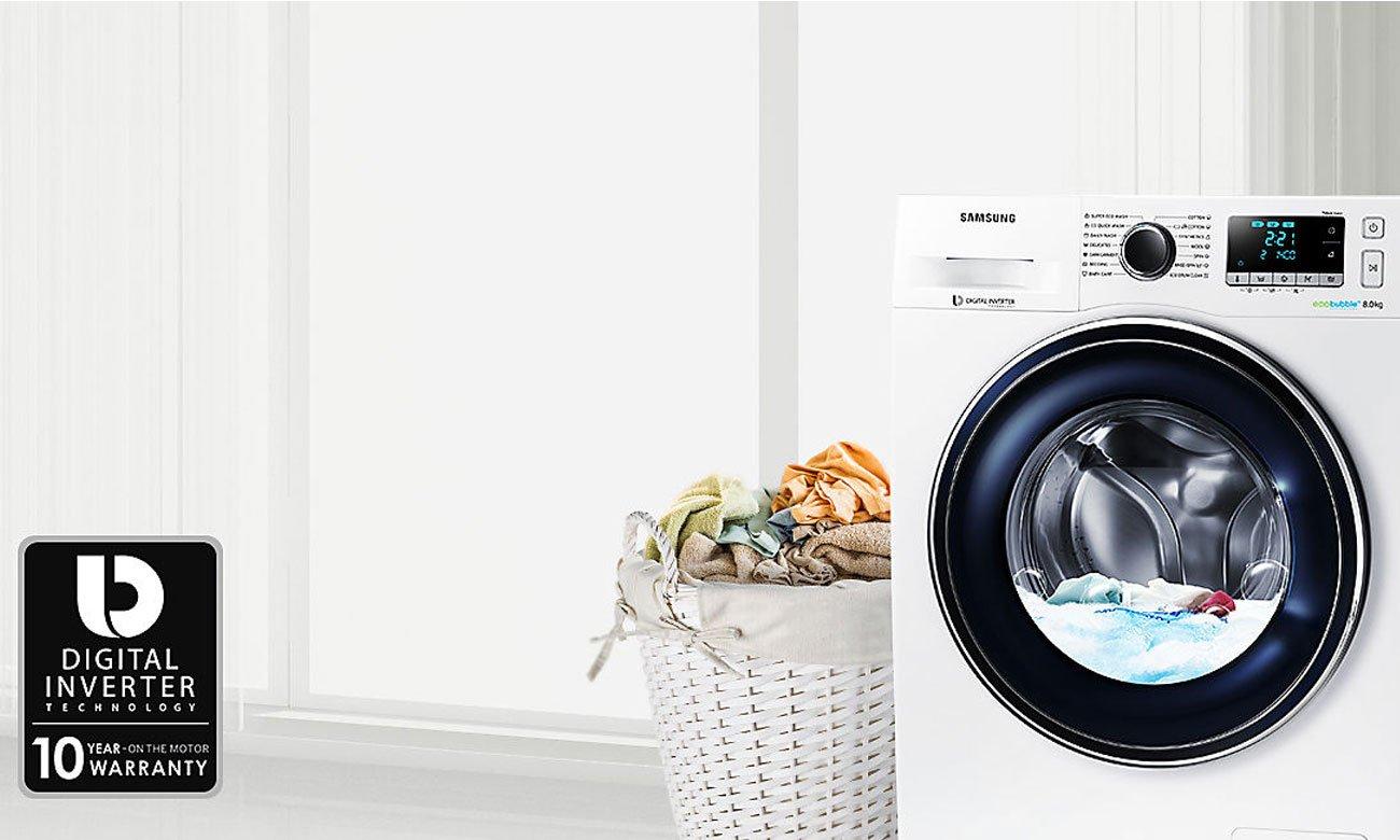 Silnik Digital Inverter w pralce Samsung WW70J5346FW
