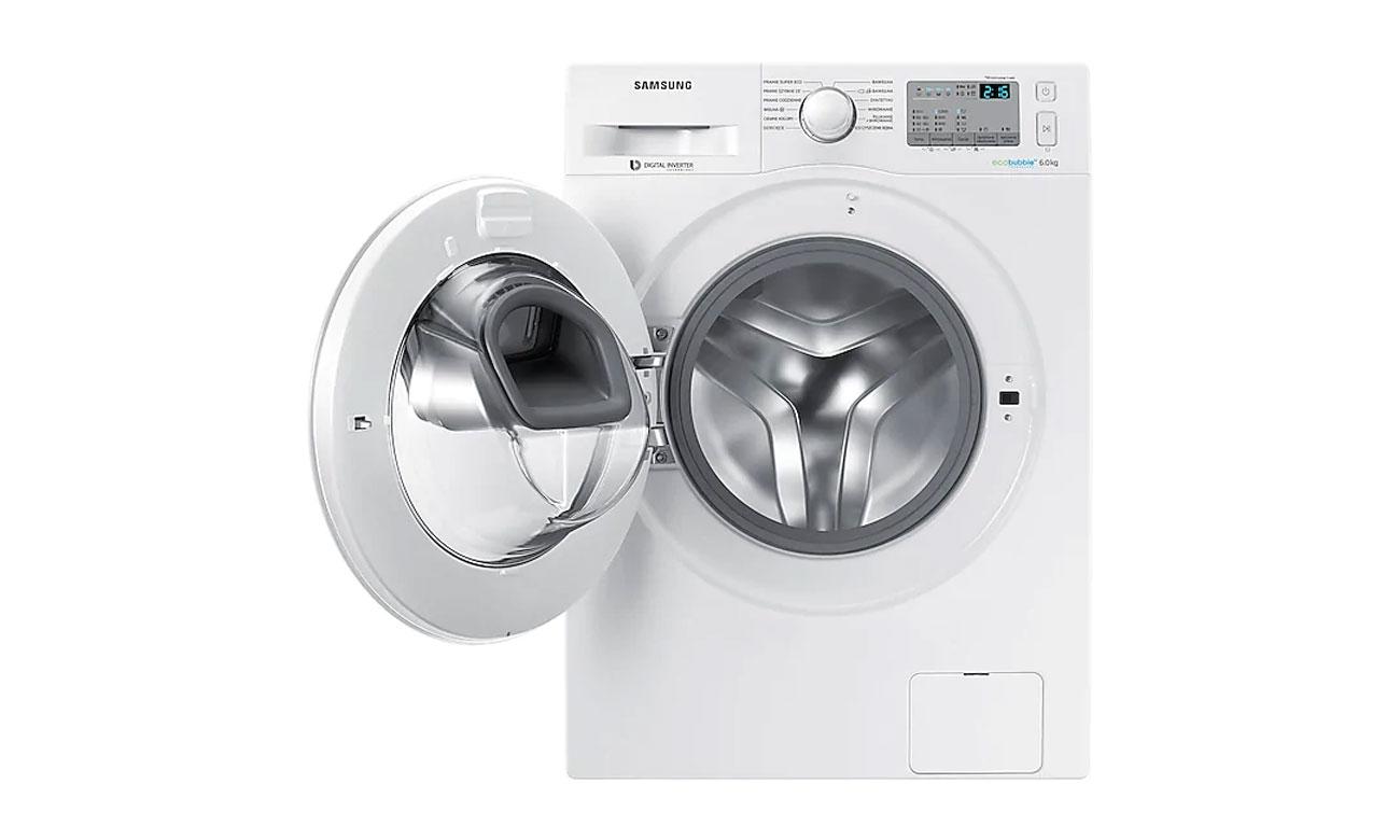Łatwe rozwiązywanie problemów, dzięki systemowi Smart Check w pralce Samsung WW90J5346MW