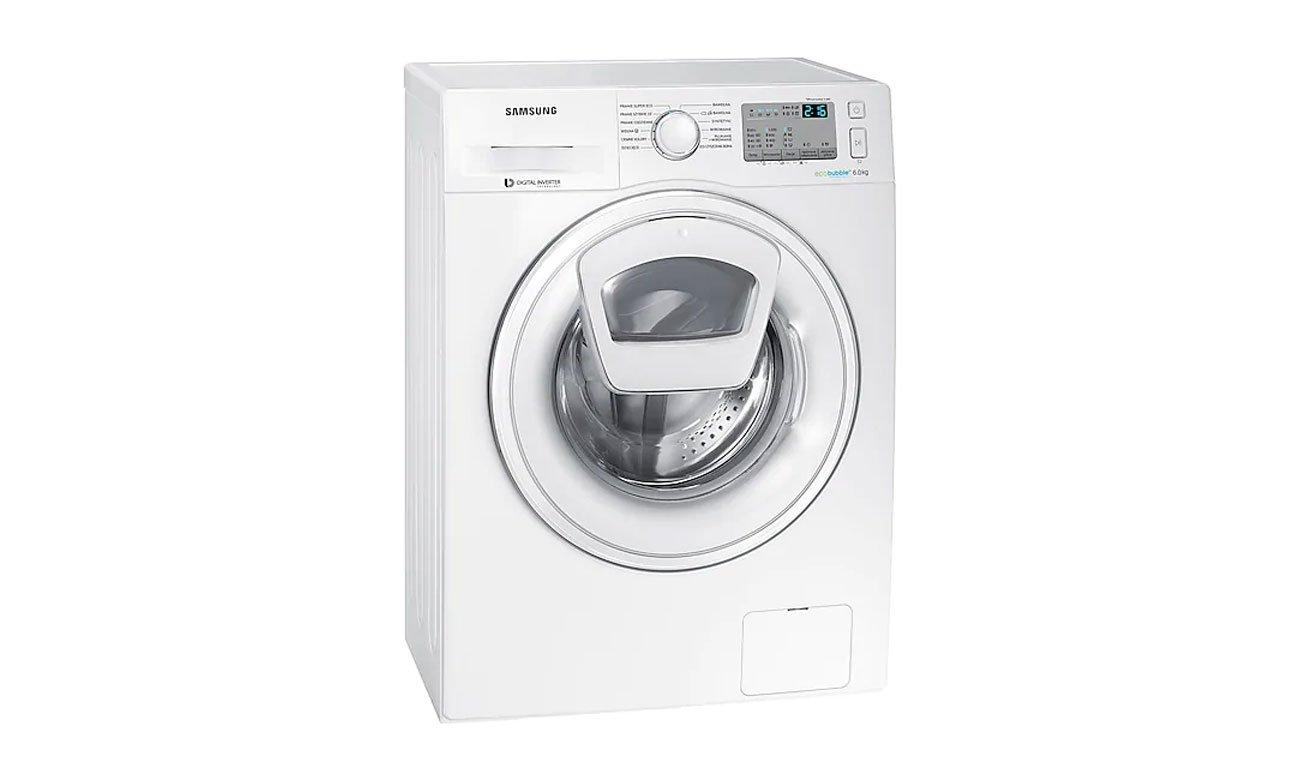 Pierz w zimnej temperaturze, dzięki technologii Eco Bubble w pralce Samsung WW90J5346MW