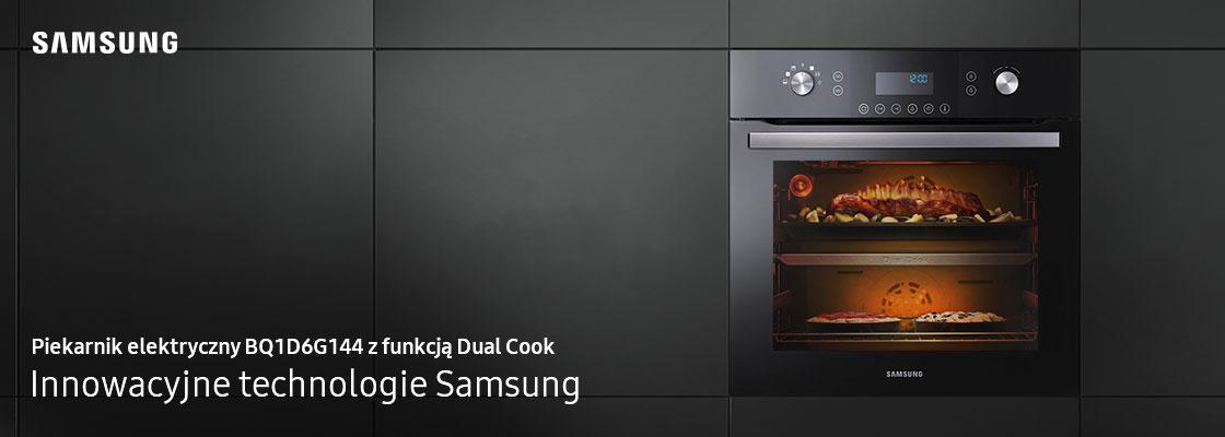 Piekarnik elektryczny z funkcją Dual Cook i funkcją pary 65 l KV_1200