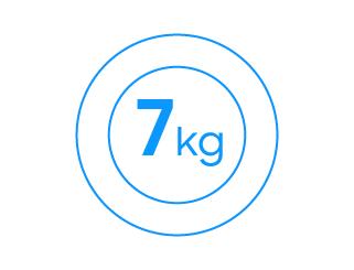 7kg ładowności