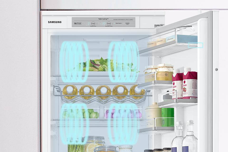 Samsung Szybkie chłodzenie produktów. Power Cool