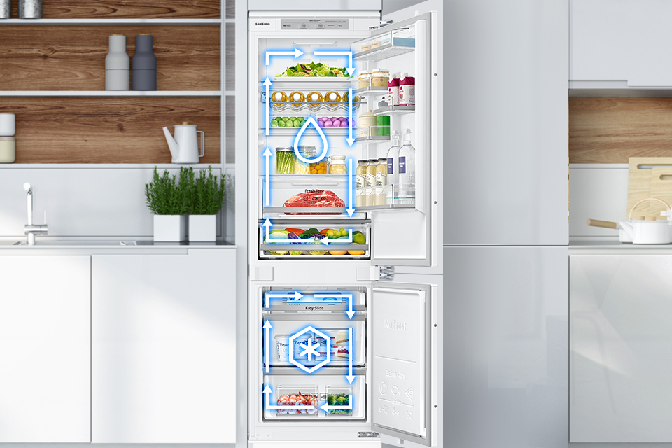 Samsung Dwa obiegi chłodzenia. Twin Cooling Plus™