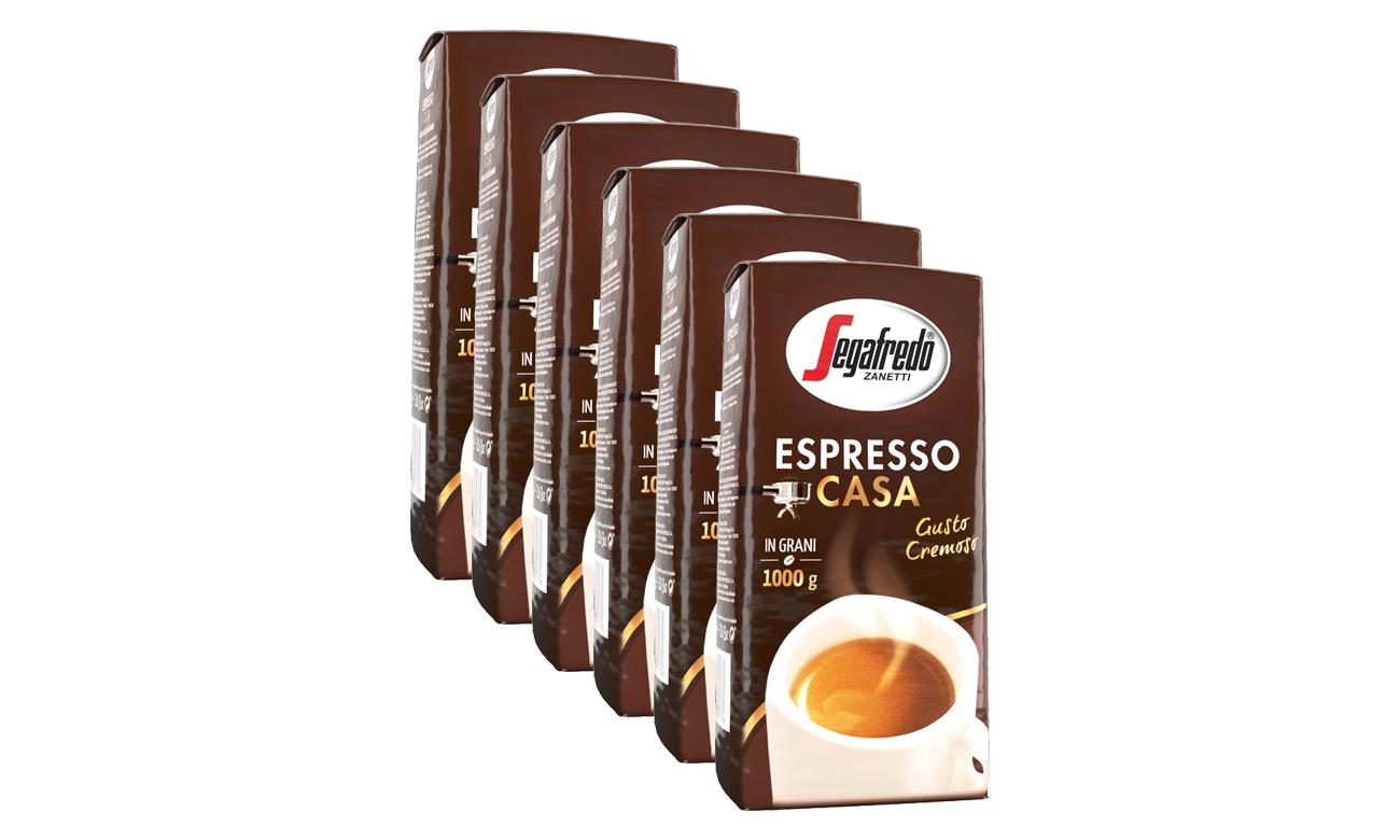 Kawa ziarnista Segafredo Espresso Casa 6 kg