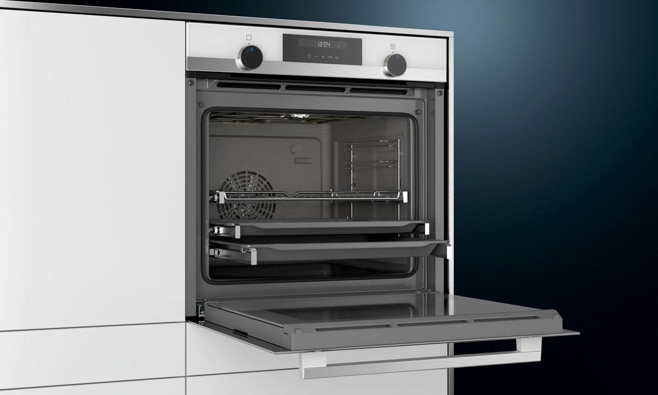 Optymalne ciepło dla najlepszych rezultatów pieczenia w piekarniku Siemens HB557G4W0