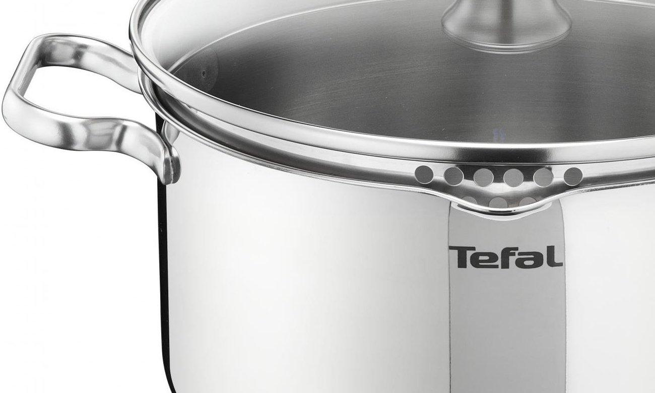 Zestaw stalowych garnków Tefal Duetto A705SC84