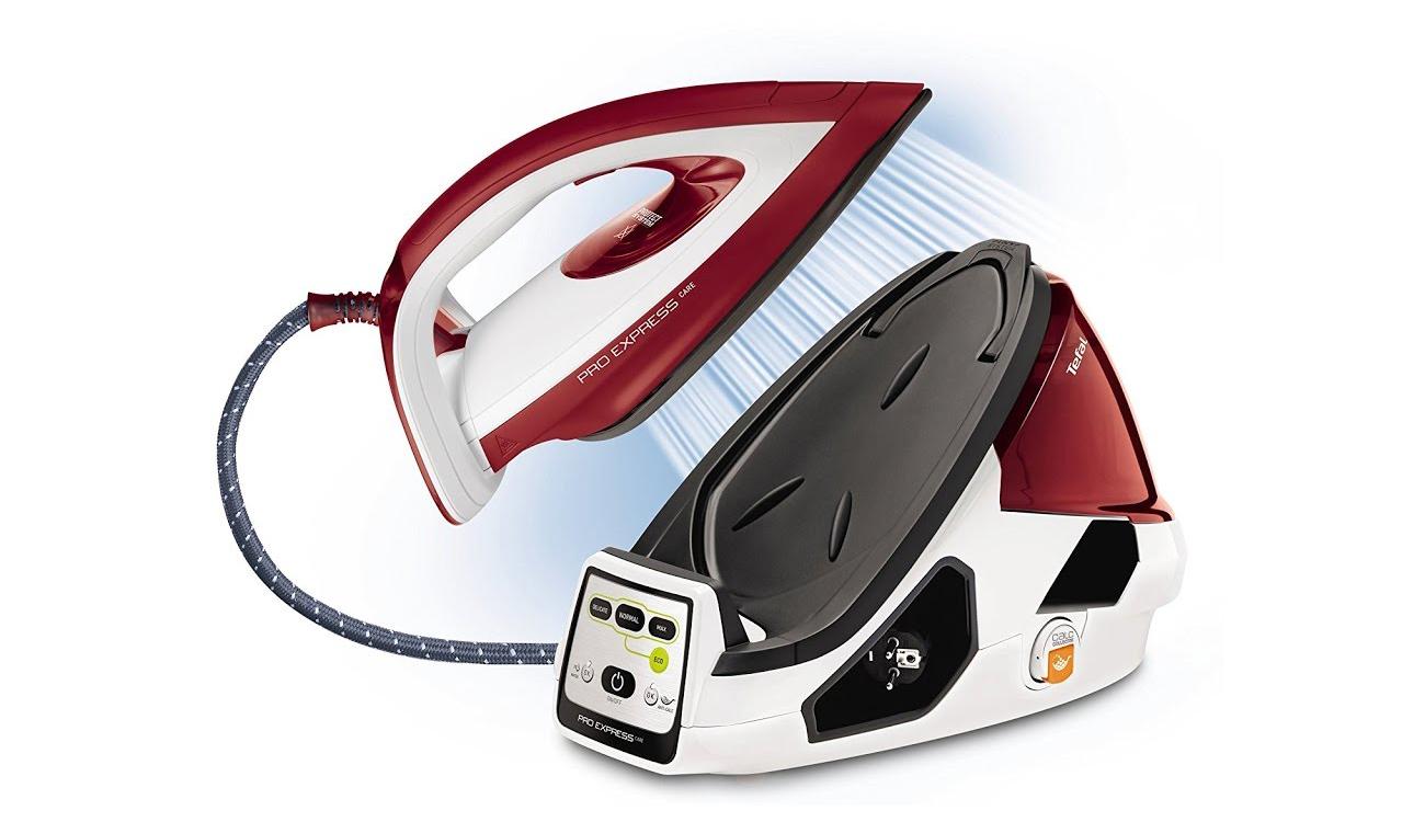 Żelazko Tefal PRO EXPRESS CARE GV9061 2400W czerwony GV9061 gwarancja 10 lat, dziesięcioletnia gwarancja
