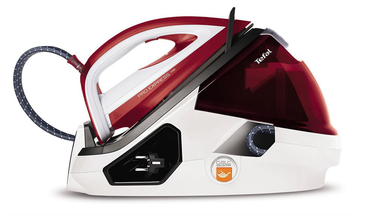 Żelazko Tefal PRO EXPRESS CARE GV9061 2400W czerwony GV9061i