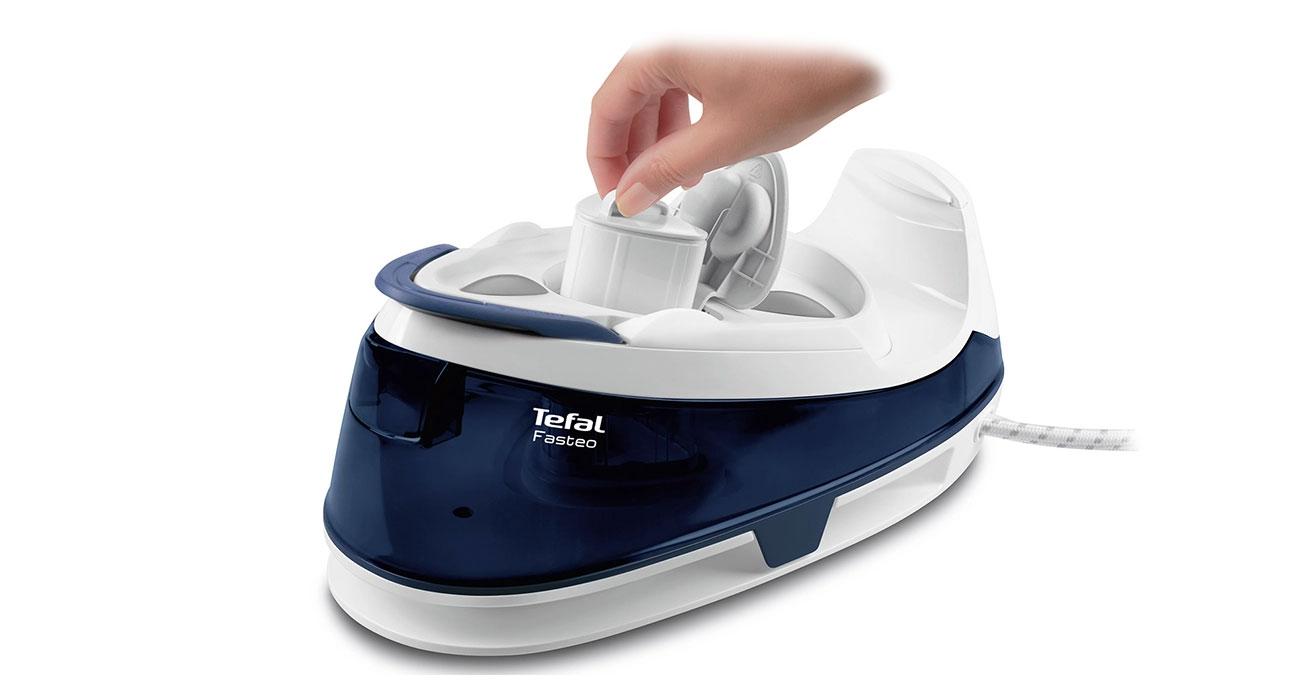 Łatwe czyszczenie w Tefal Fasteo SV6040