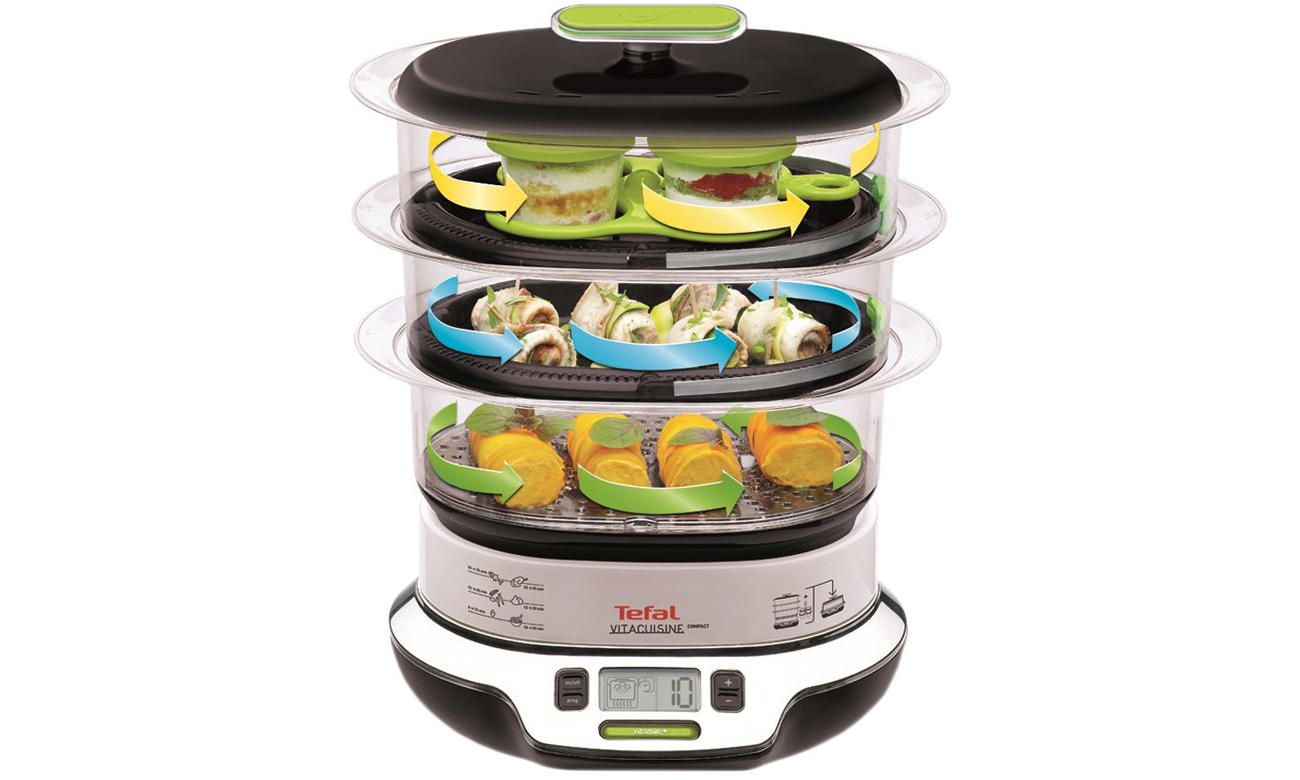 zdrowe jedzenie fit Parowar Tefal Vitacuisine Compact VS 4003