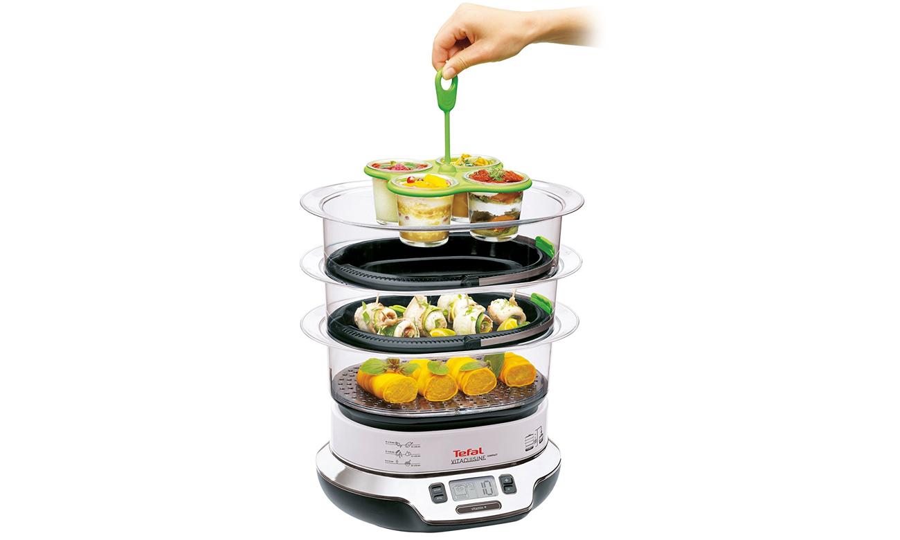 parowar który utrzymuje ciepło potraw Tefal VS400333