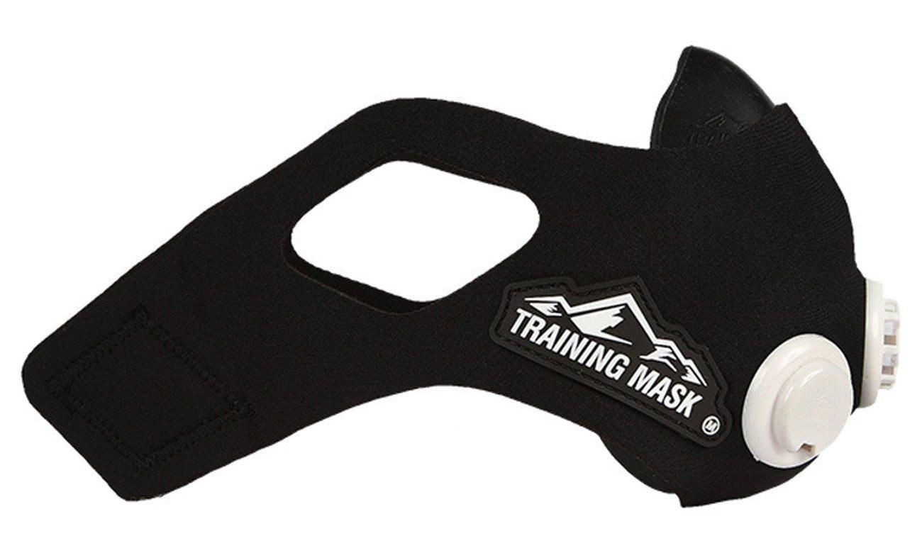 Maska treningowa Training Mask 2.0 jest lekka i idealnie dopasowuje się do twarzy