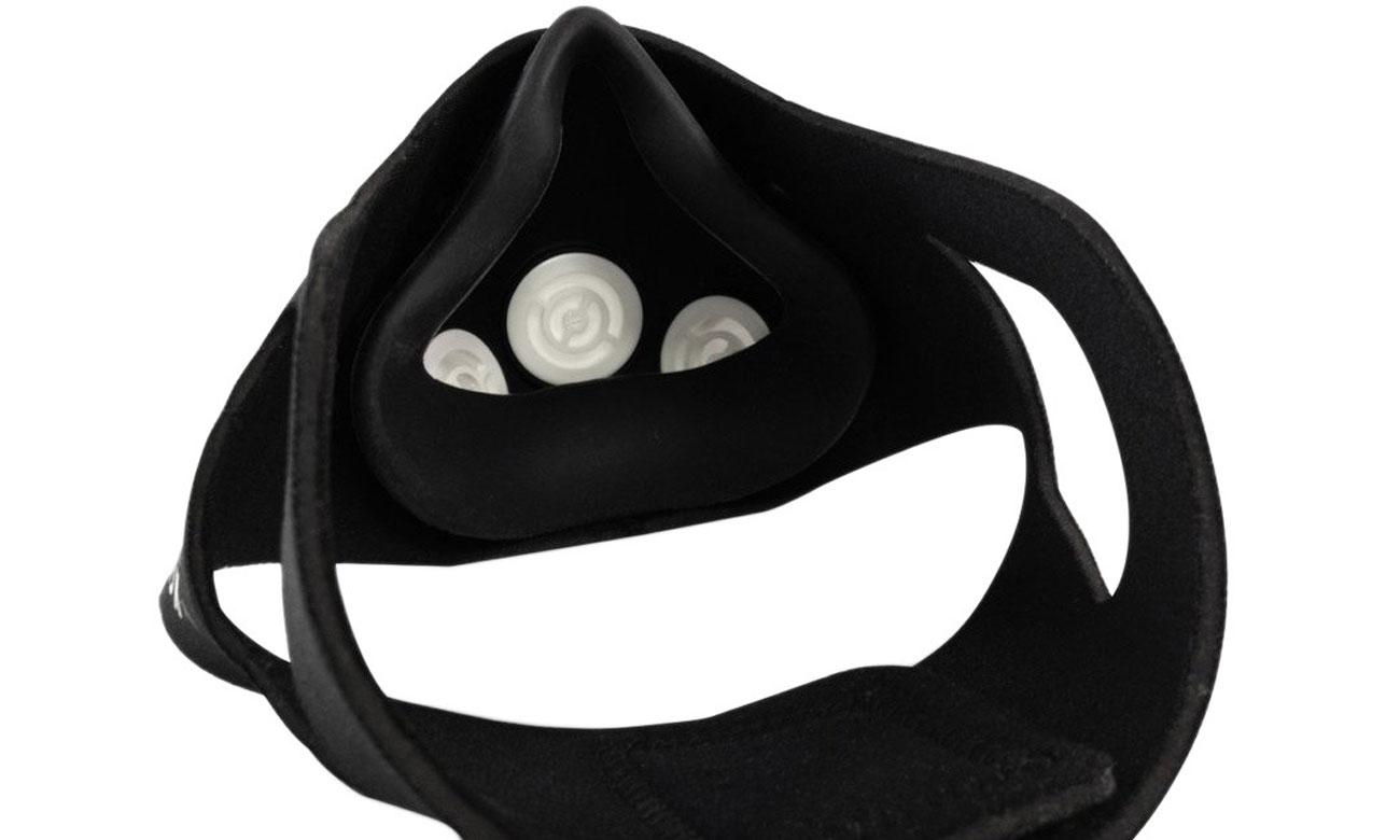 Maska treningowa Training Mask 2.0 ma specjalne zawory i poprawia wyniki treningów