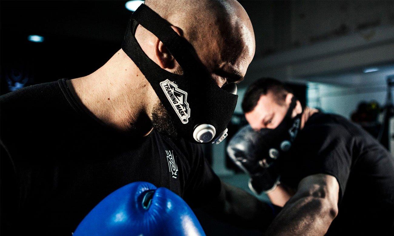 Maska sportowa Training mask 2.0 original w rozmiarze S dla każdego sportowca