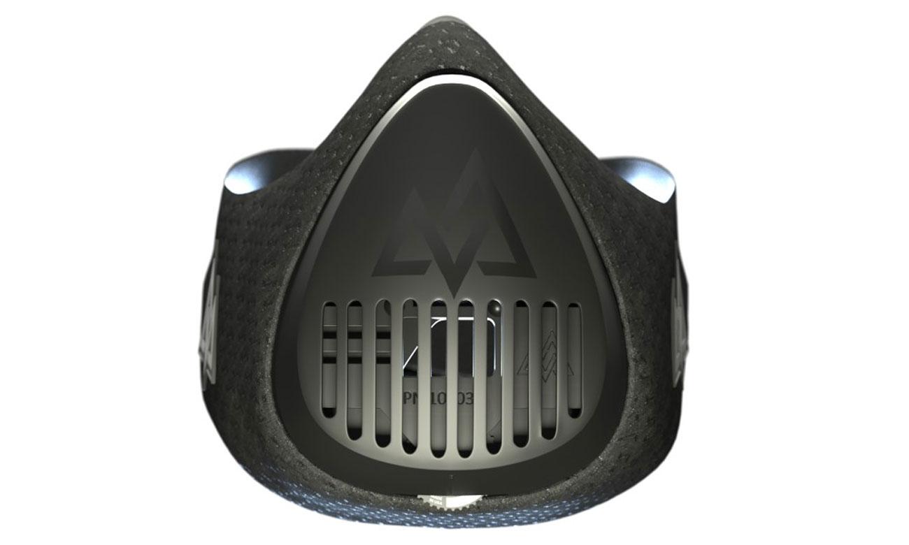 Maska sportowa Training Mask 3.0 ma możliwość regulacji oporu powietrza