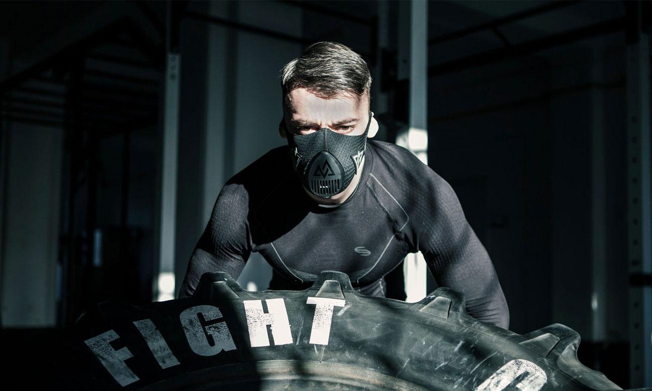 Maska tlenowa Training Mask 3.0 zapewnia lepsze wyniki