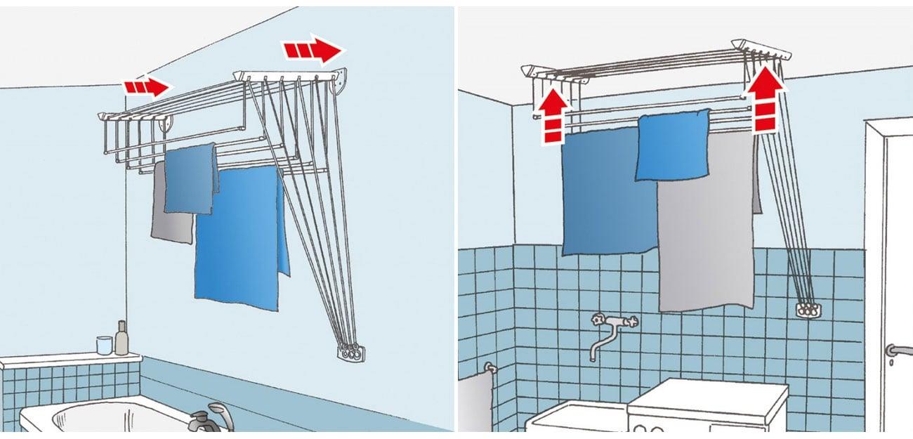 Suszarka na pranie Vileda Highline 160 159492