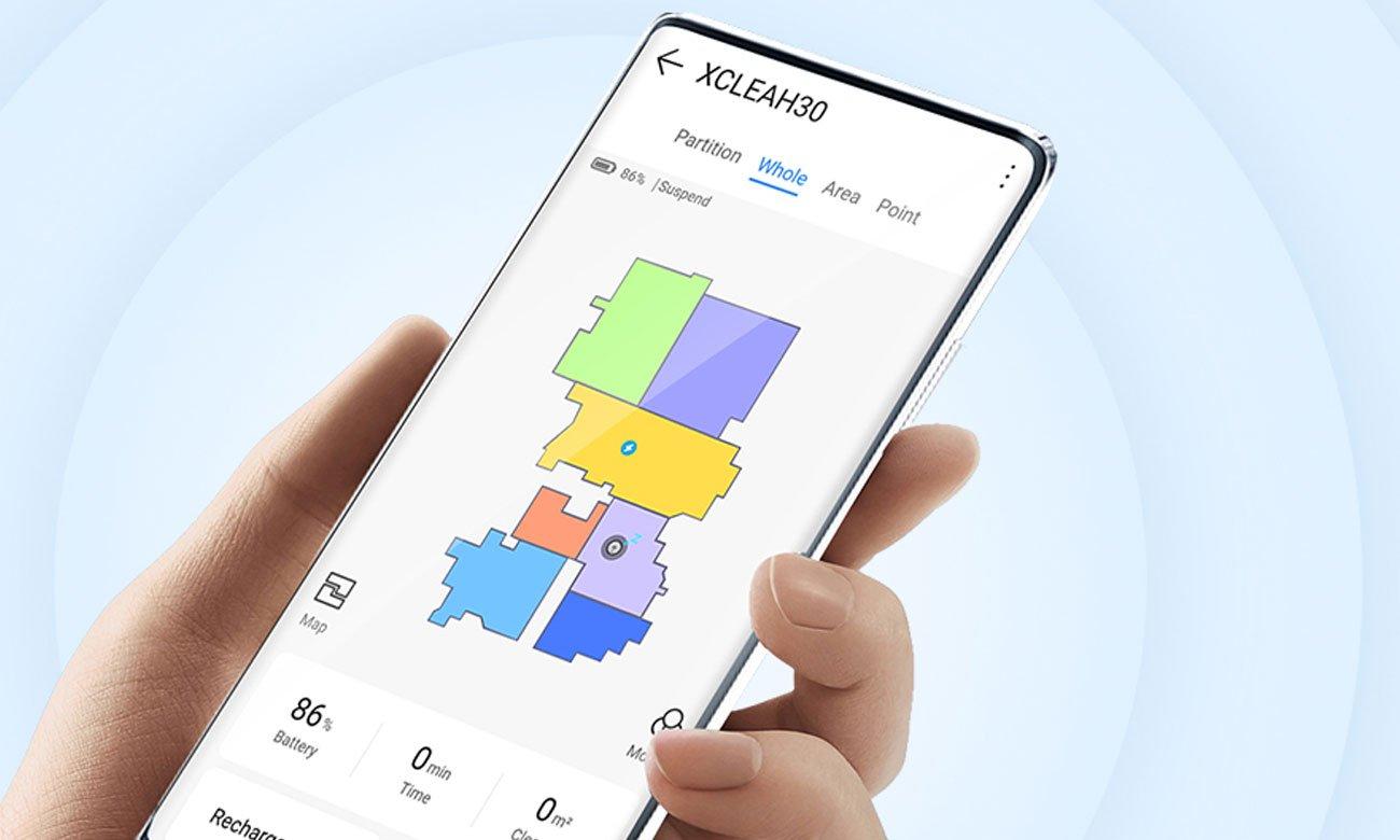 Sterowanie za pomocą aplikacji w XCLEA H30 Plus