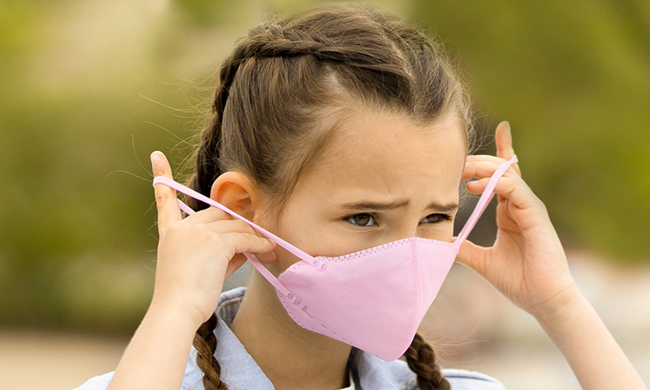 Maska ochronna Xiaomi AirPop Kids NV 4 szt różowa 43316