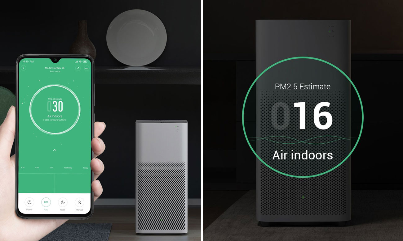 Oczyszczacz powietrza Xiaomi Mi Air Purifier 2H FJY4026GL