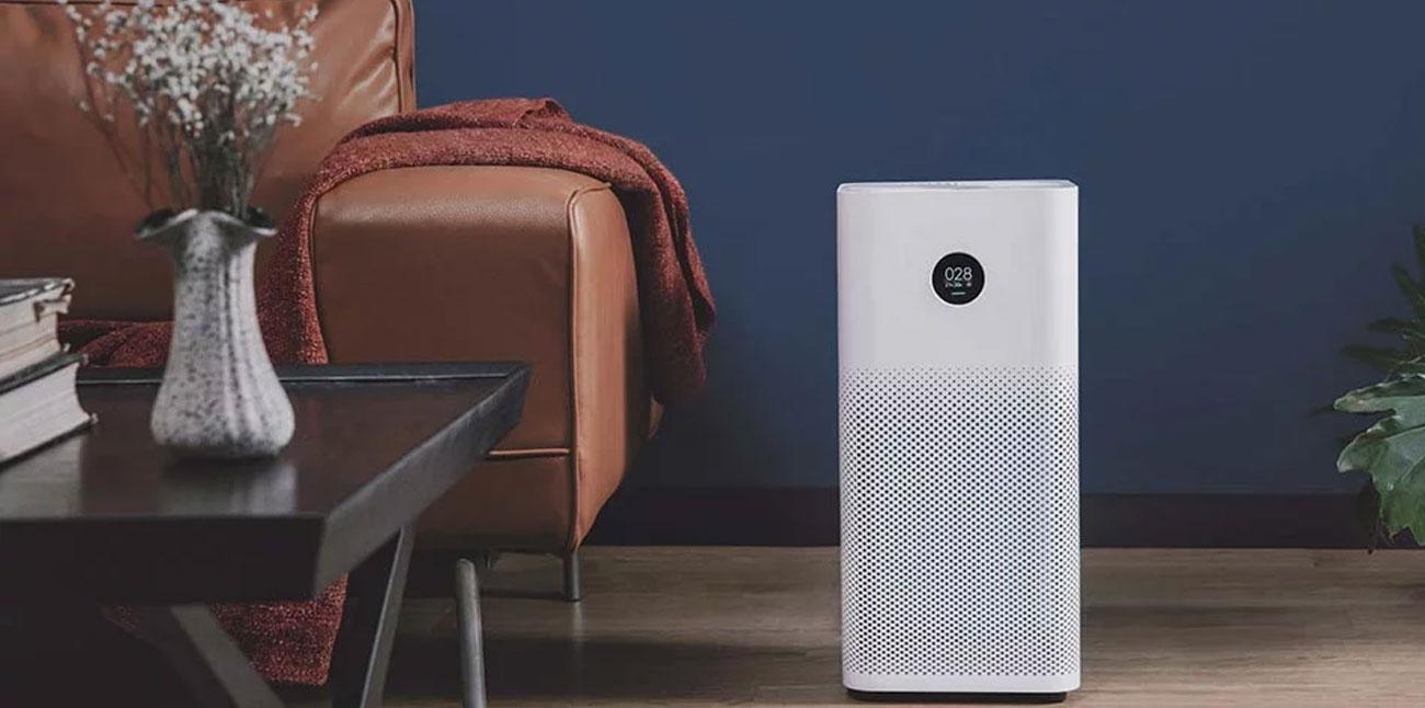 sterowanie przez aplikację oczyszczaczem Mi Air Purifier 2s z ekranem OLED