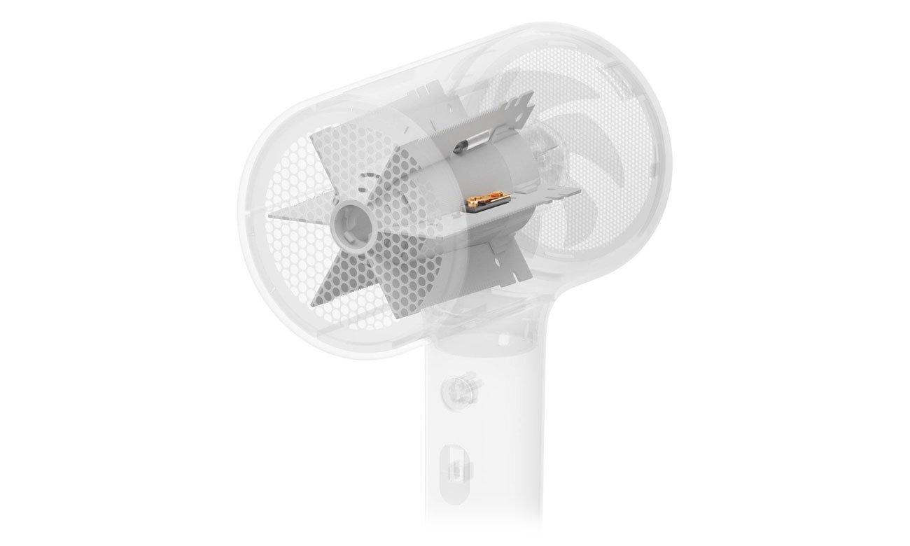 Wysokiej jakości silnik w Xiaomi Mi Ionic Hair Dryer