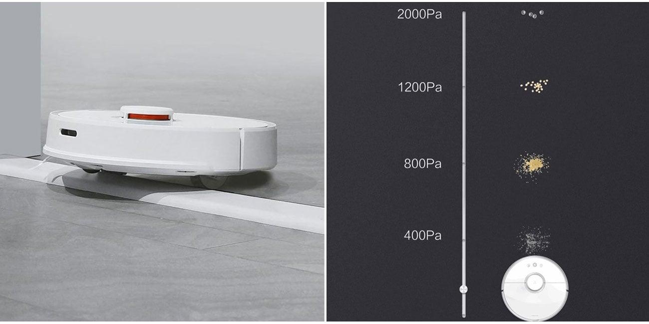 Odkurzacz automatyczny Xiaomi Mi Robot Vacuum Cleaner 2 Roborock S50