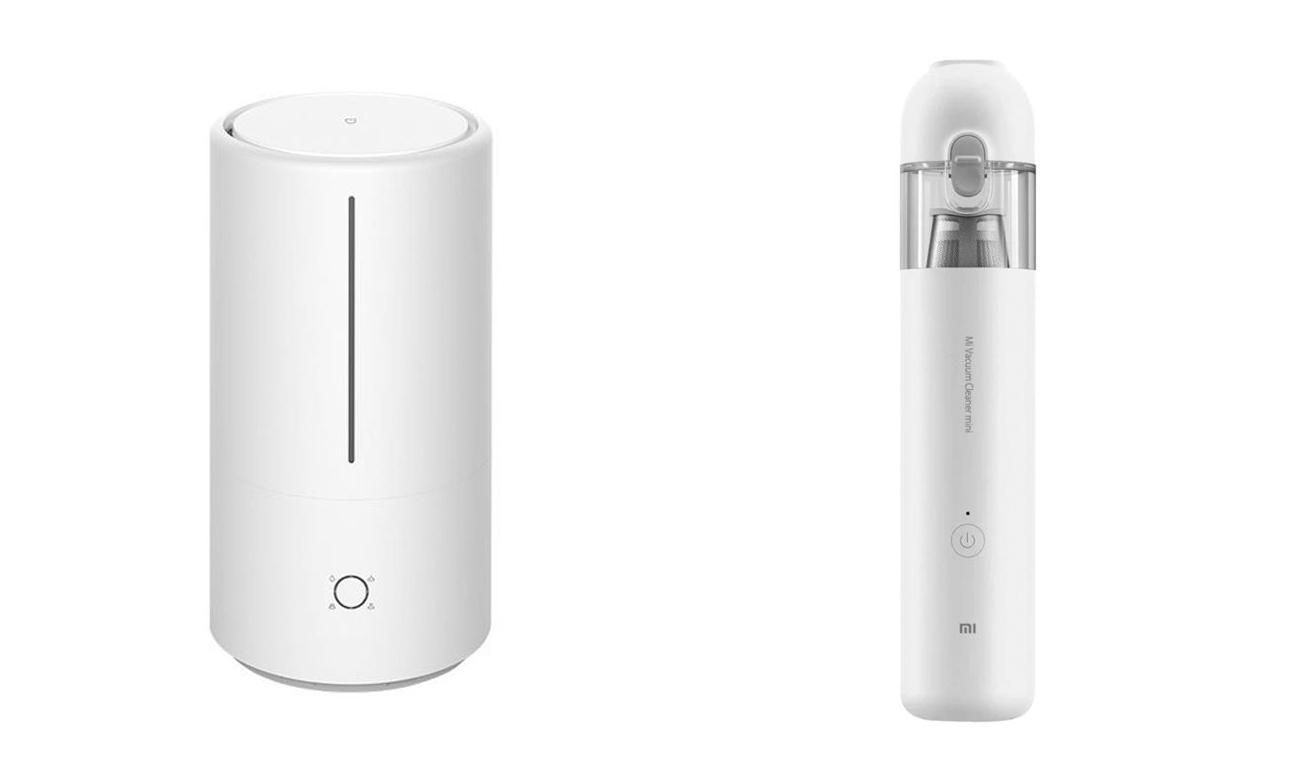 Zestaw Xiaomi nawilżacz Mi Smart Antibacterial Humidifier + odkurzacz Mi Vacuum Cleaner Mini