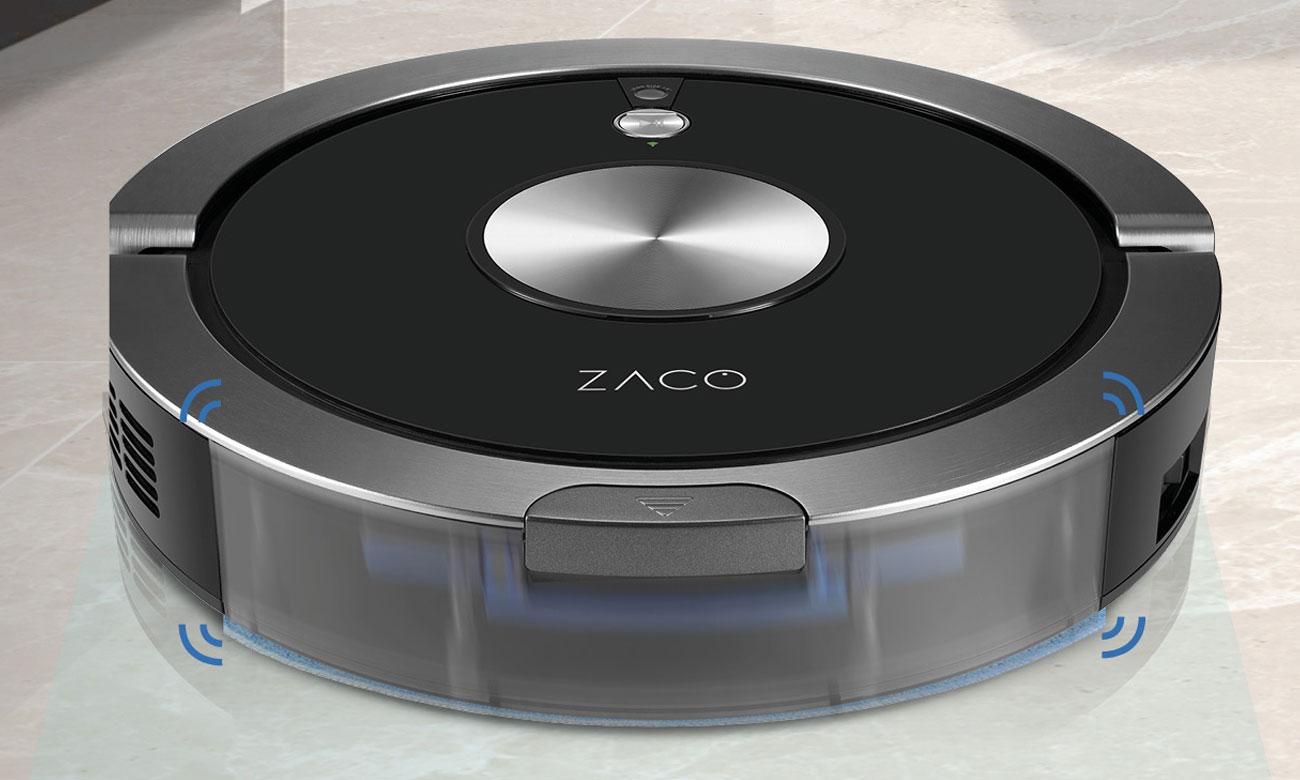 akcesoria w zestawie z robotem Zaco A9s