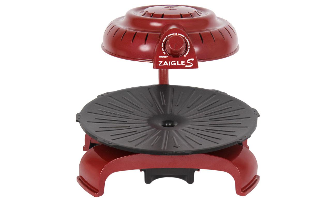 Grill elektryczny Zaigle Simple Everyday Grill czerwony ZaigleS-WD
