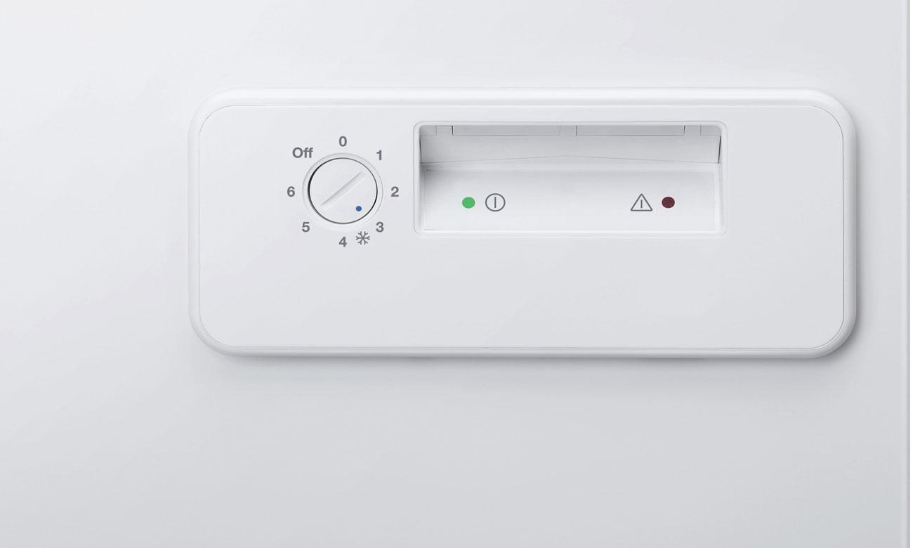 Łatwe obsługa urządzenia w Zanussi ZFC14400WA